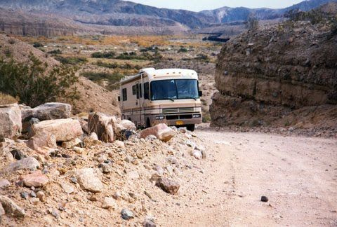 The Afton Canyon Primitive Campground Off California S I 15 East