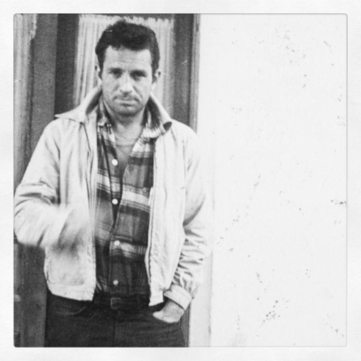 William S Burroughs, Jack Kerouac, Tangier, 1957.