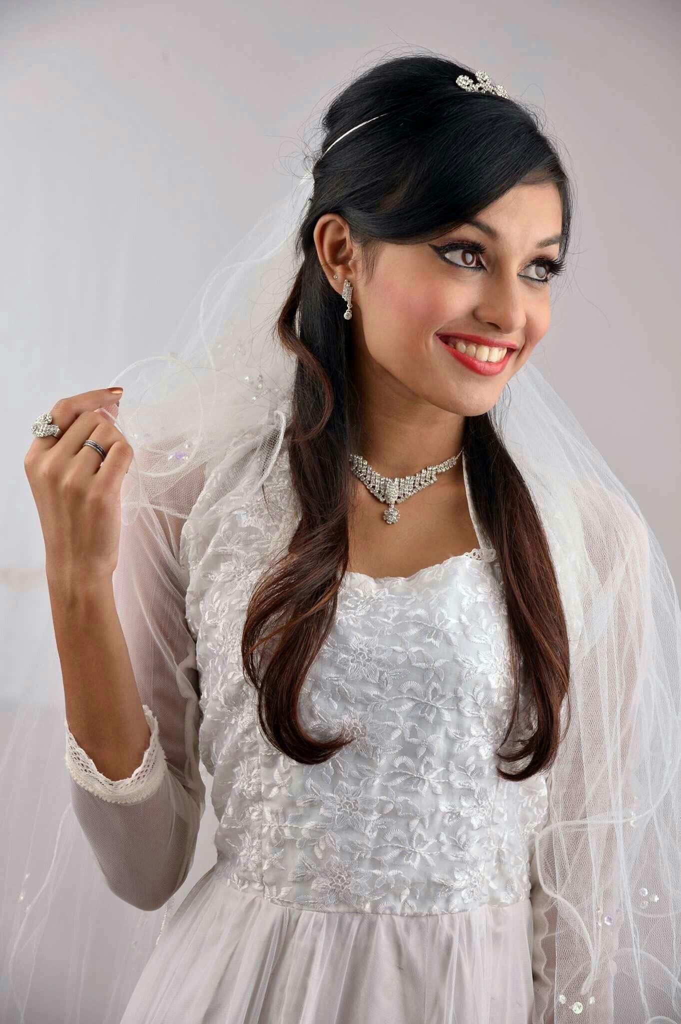 wedding hair #hairstyle #christian bridal #makeup #hair