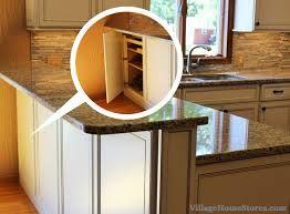 Kitchen Island Knee Wall reverse access blind corner, access your blind corner from the