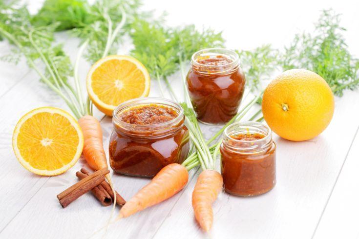Marmeláda z pomarančov a mrkvy