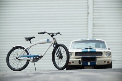 Shelby Cobra GT-350 inspired Felt Bicycle.