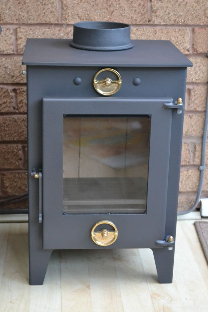 Sparko Wood Burning Stove 4kw Multifuel Universal Fireplace Accessories Stoves