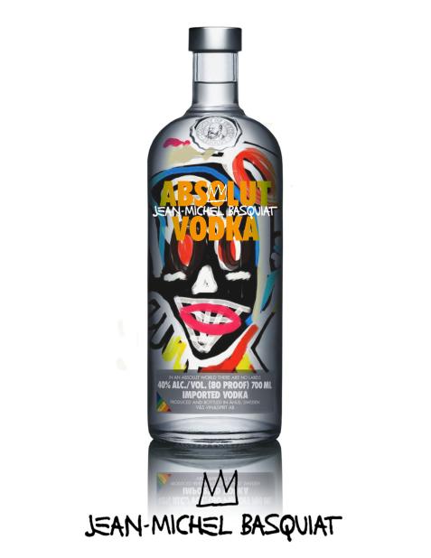 Absolut Vodka - Jean Michel Basquiat... By Iván Co.