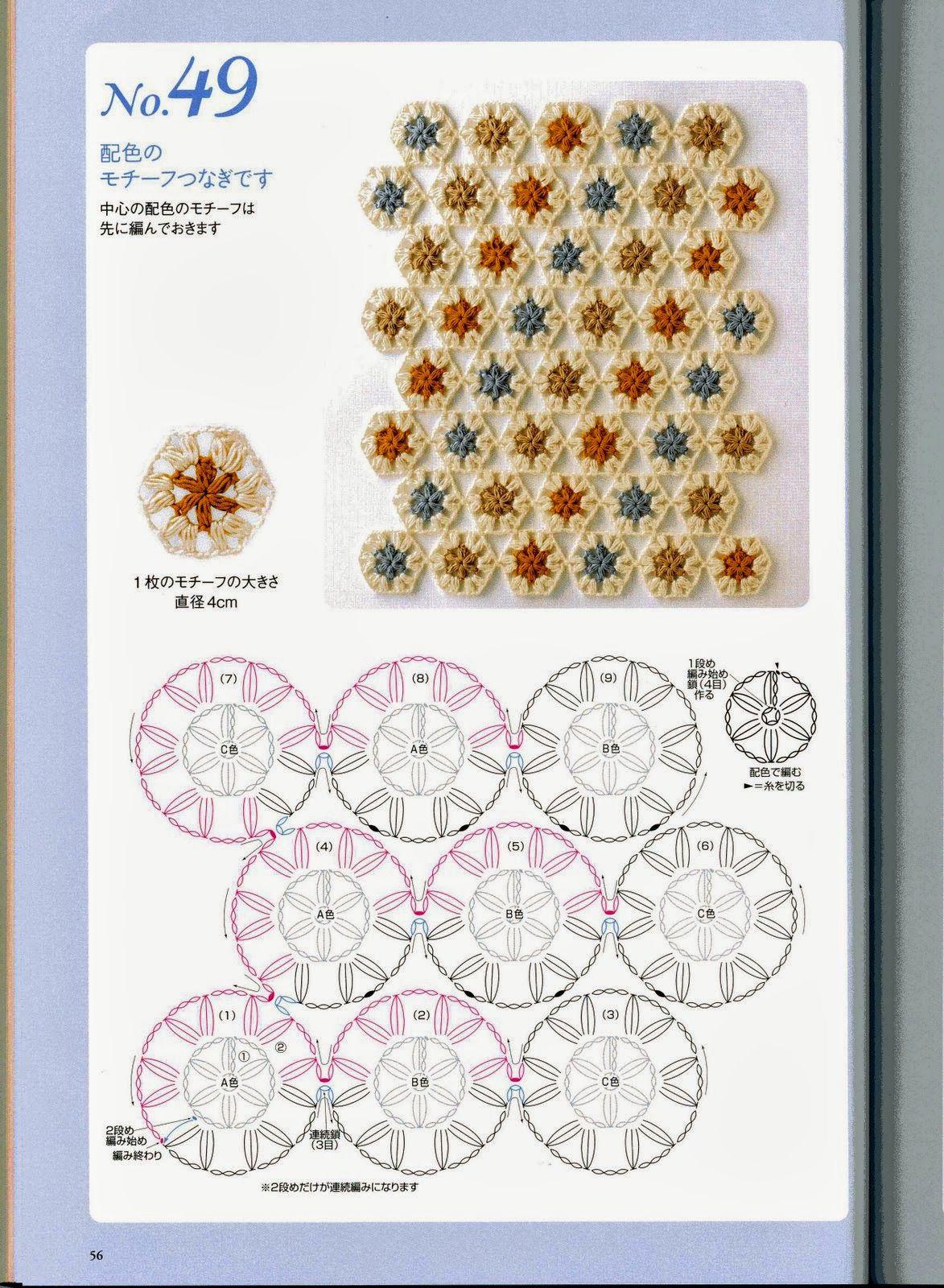 Estilos de Puntos Japon.Revista - Patrones Crochet | c.puntos ...