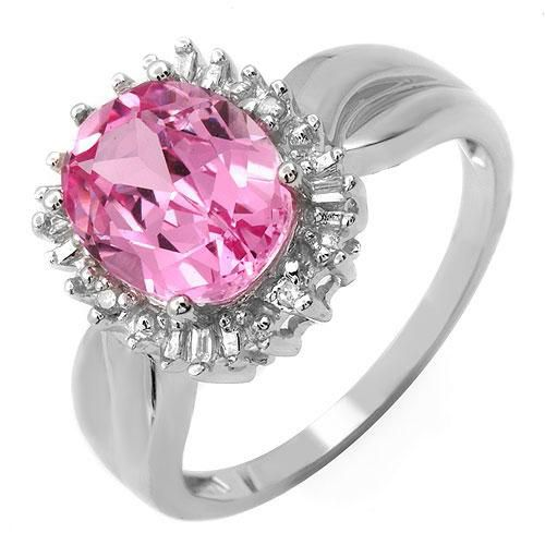 Lovely pink ring