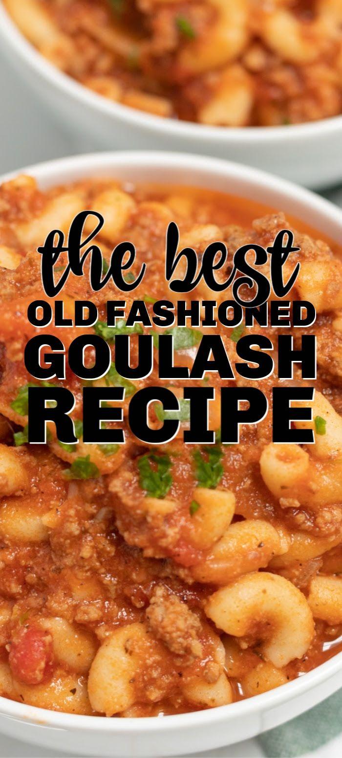 Old-Fashioned Goulash