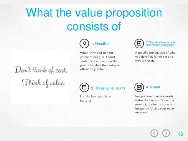 How To Create A Strong Value Proposition For BB  Business