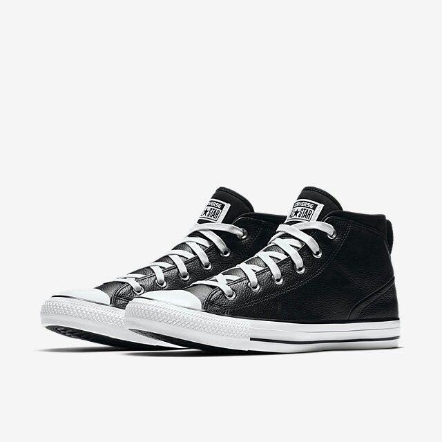 444c6fa019c2 CONVERSE CHUCK TAYLOR ALL STAR SYDE STREET LEATHER HIGH TOP