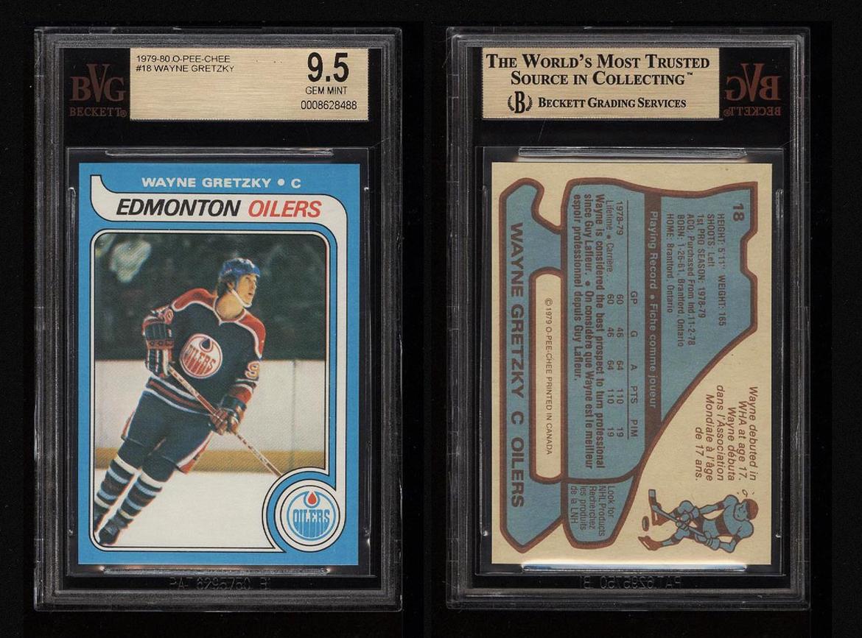 1979 O Pee Chee Hockey Wayne Gretzky Rookie Rc 18 Bvg 95 Gem Mint