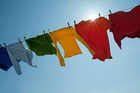 We still have good sunny days, but maybe less of them and there is nothing better than the smell of clothesline fresh