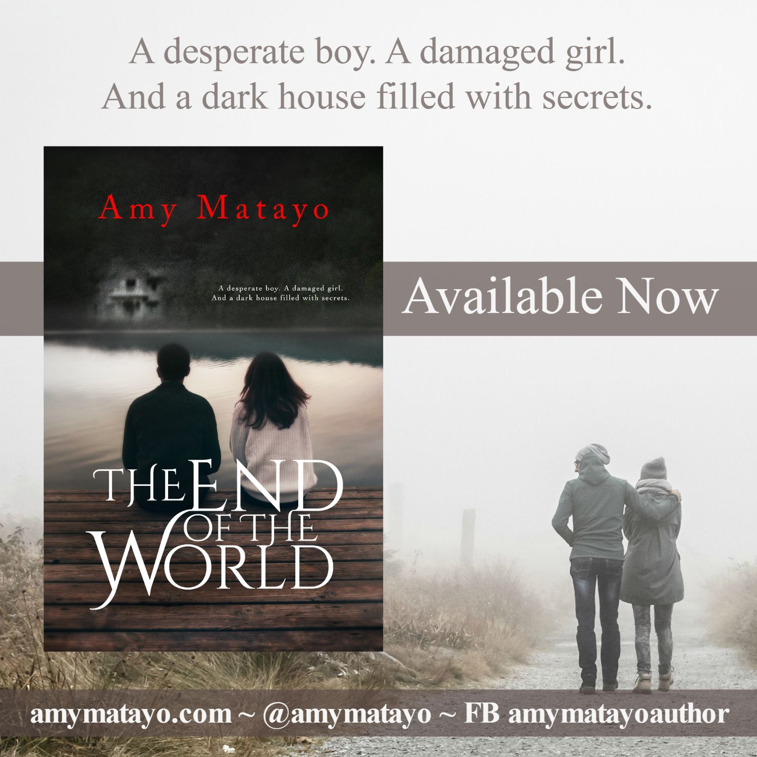 The End of the World by @amymatayo is available TODAY!! Don't miss this one!  http://amzn.to/1nVFPTY