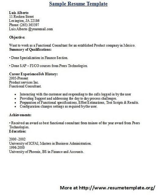 sample sap fico consultant cover letter - Yok.kubkireklamowe.co