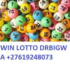 The lottery winning numbers with +27619248073
