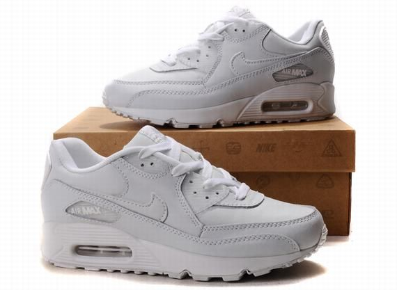 nike air max 90 all white