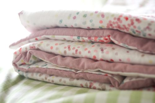 Probably Actually - nani iro lap duvet.  I LOVE this fabric!