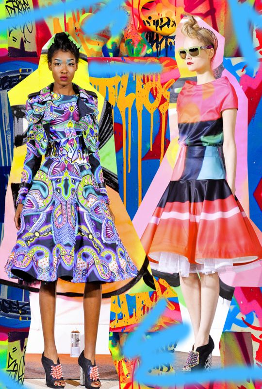 Trends Aaryn West Surface Design Page 2 Street Art Fashion Trending Fashion Project
