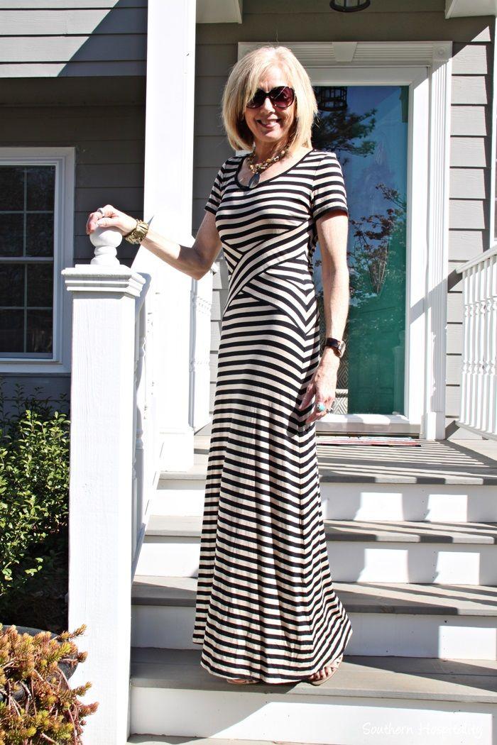 fc0646e526e Fashion over 50  Maxi Dress