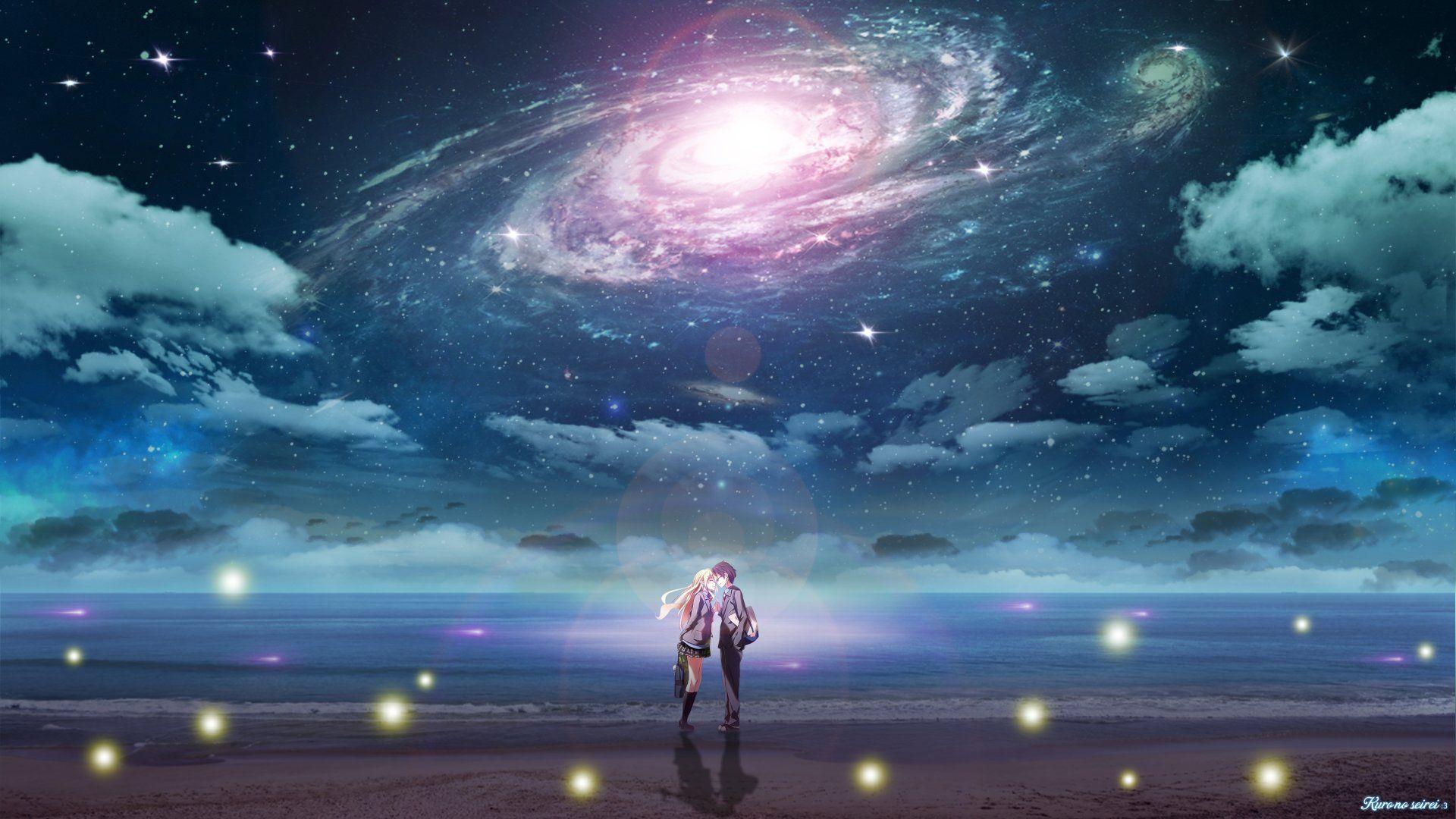 Anime Your Lie In April Kousei Arima Kaori Miyazono Wallpaper Your Lie In April Wallpaper Backgrounds Background Images