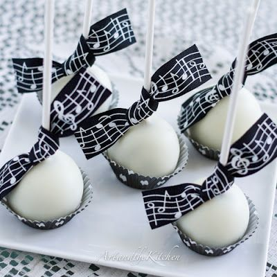 Lovely ArtandtheKitchen: Cake Pops Made From Scratch Chocolate Inside With White  Chocolate Coating.
