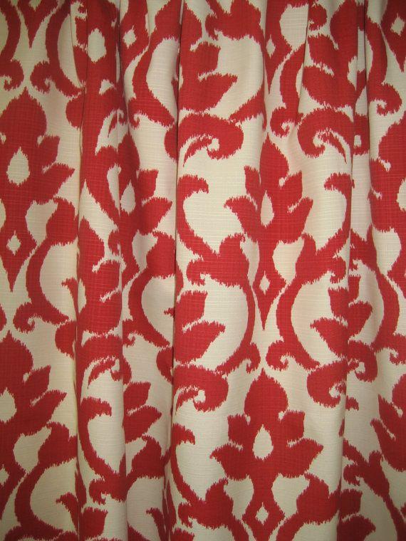 Two 96 X 50 Custom Outdoor Indoor Curtain Panels