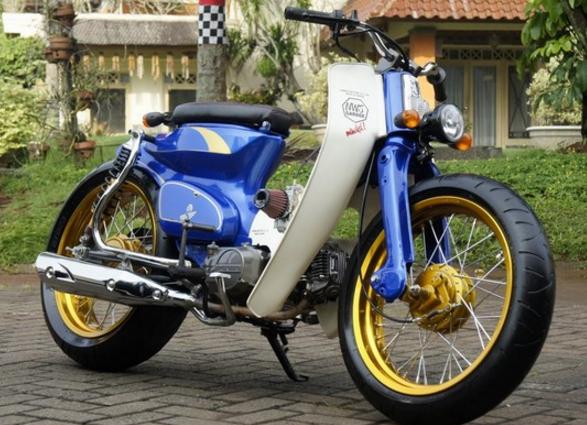 Modifikasi Honda Astrea Grand Pitung Desain Pinterest Honda