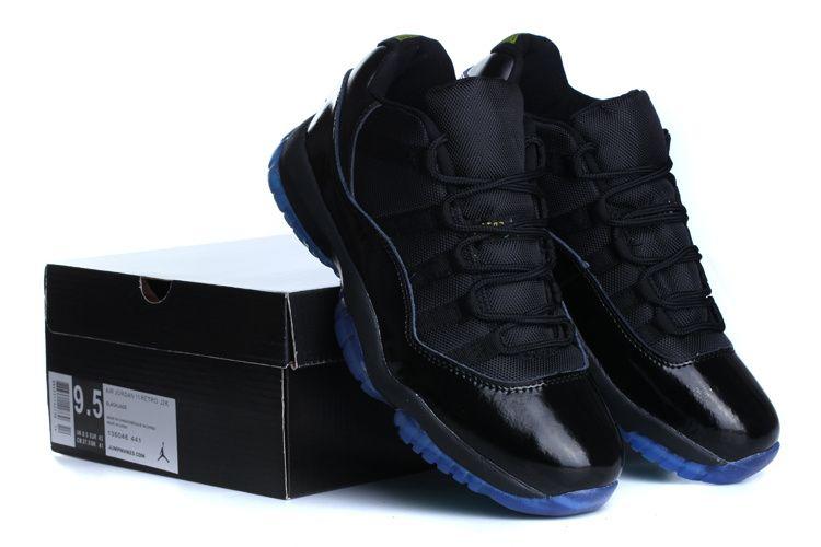 low priced c5b2d ad676 ... New Black Gamma Blue Air Jordan 11 Retro Low Mmen Shoes Sale Onl ...