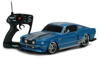 This High Sd 1967 Ford Mustang 1 12 Scale Electric Rc Car Comes With A Ful 9 6v Rechargeable Battery