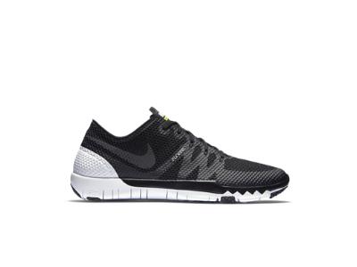 Nike Free Trainer 3.0 V3 Herren Schuhe Schwarz Silber