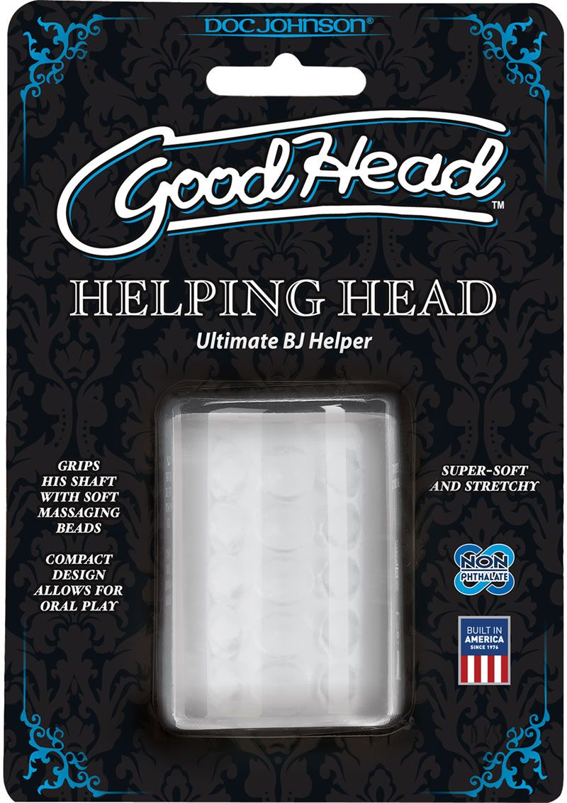 Goodhead Helping Head - Doc Johnson`s new GoodHead Helping Head is a  revolutionary 2 mini stroker specifically designed for handheld use to  heighten the ...