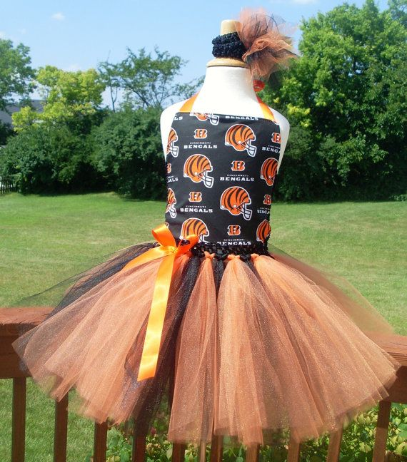 782fdf3f Cincinnati Bengals Tutu Dress by 4EverTuTu on Etsy, $31.99 ...