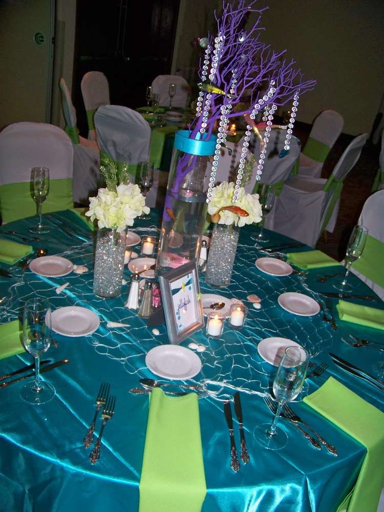 Under the SeaBeach Quinceaera Party Ideas Sweet 16 Cinderella
