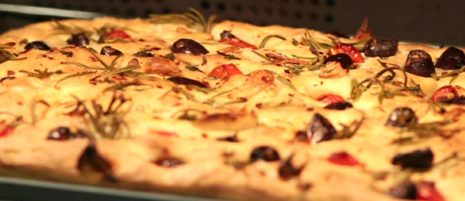 How To Make A Focaccia With Curtis Stone Coles Cooking Stone Curtis Stone Recipes Cooking Dried Beans