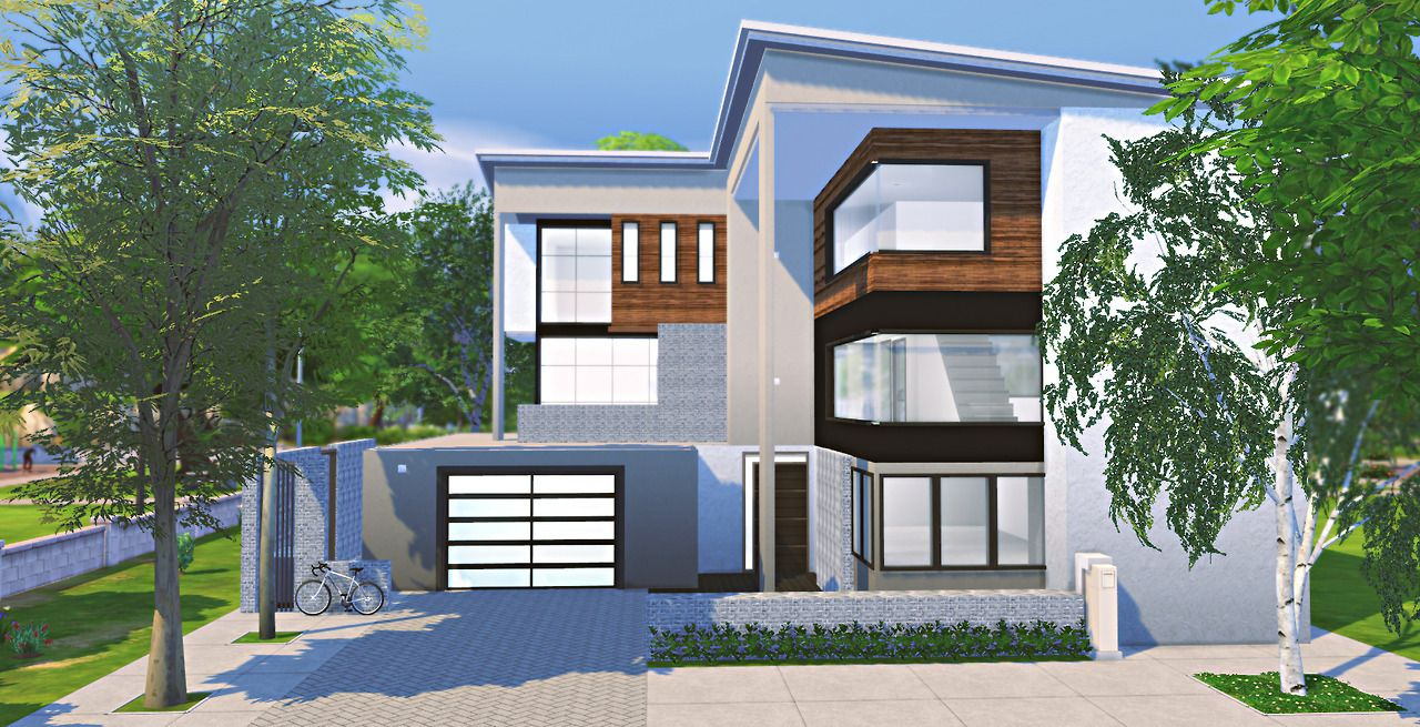 AysiiaxShop — simposant: SIMposant Modernes Haus( unfurnished ...