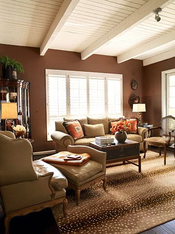 Decorating With Warm Colors Colorful Living Room Design Tan Living Room Living Room Colors