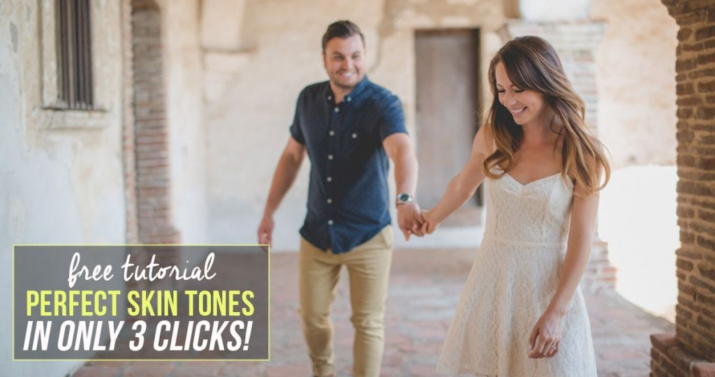 Edit like a pro and fix crazy skin tones in Lightroom in 3 clicks!