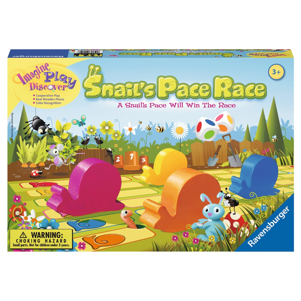 Snails Pace Race Game, Board Games Games for kids