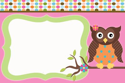 free owl invitation templates the fast lane freebie friday