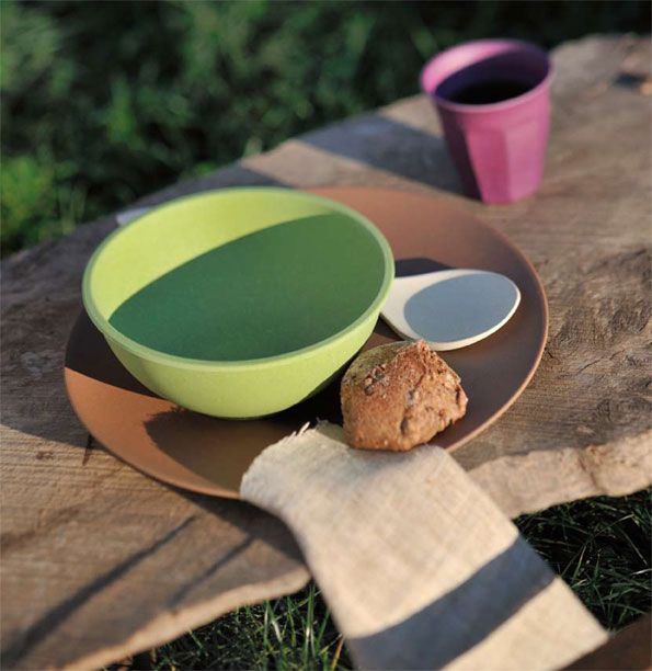 Bitossi Bio Home, tableware collection made of bamboo