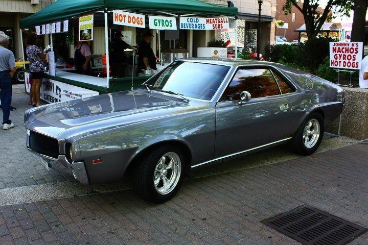 The 1969 Amc Amx Muscle Car Very Cool Pony Car Amc Javelin American Motors