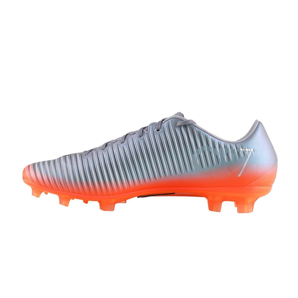 Chaussures Football Nike Mercurial Veloce Iii Cr7 Fg Gris