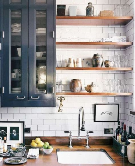 Fit Some Shelves Between The Walls & Cabinets For Maximum Space Best Kitchen Shelves Design 2018