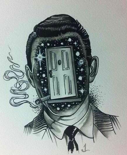 Twilight zone rod serling fan art tattoo ideas for Twilight movie tattoo