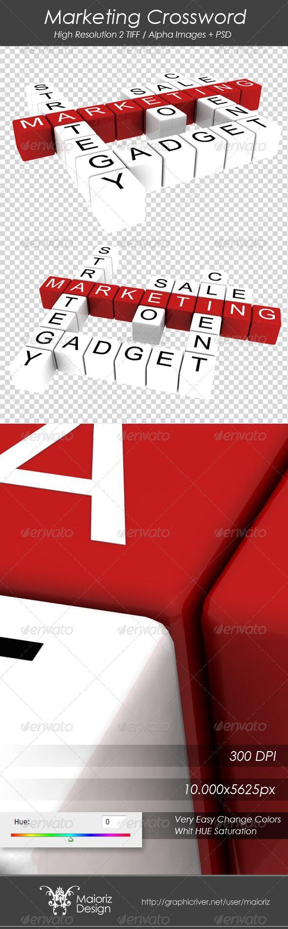 3D Text Graphics  Renders  Marketing Crossword 3D Text Graphics  Renders  Marketing Crossword  3D Text Graphics  Renders by maioriz
