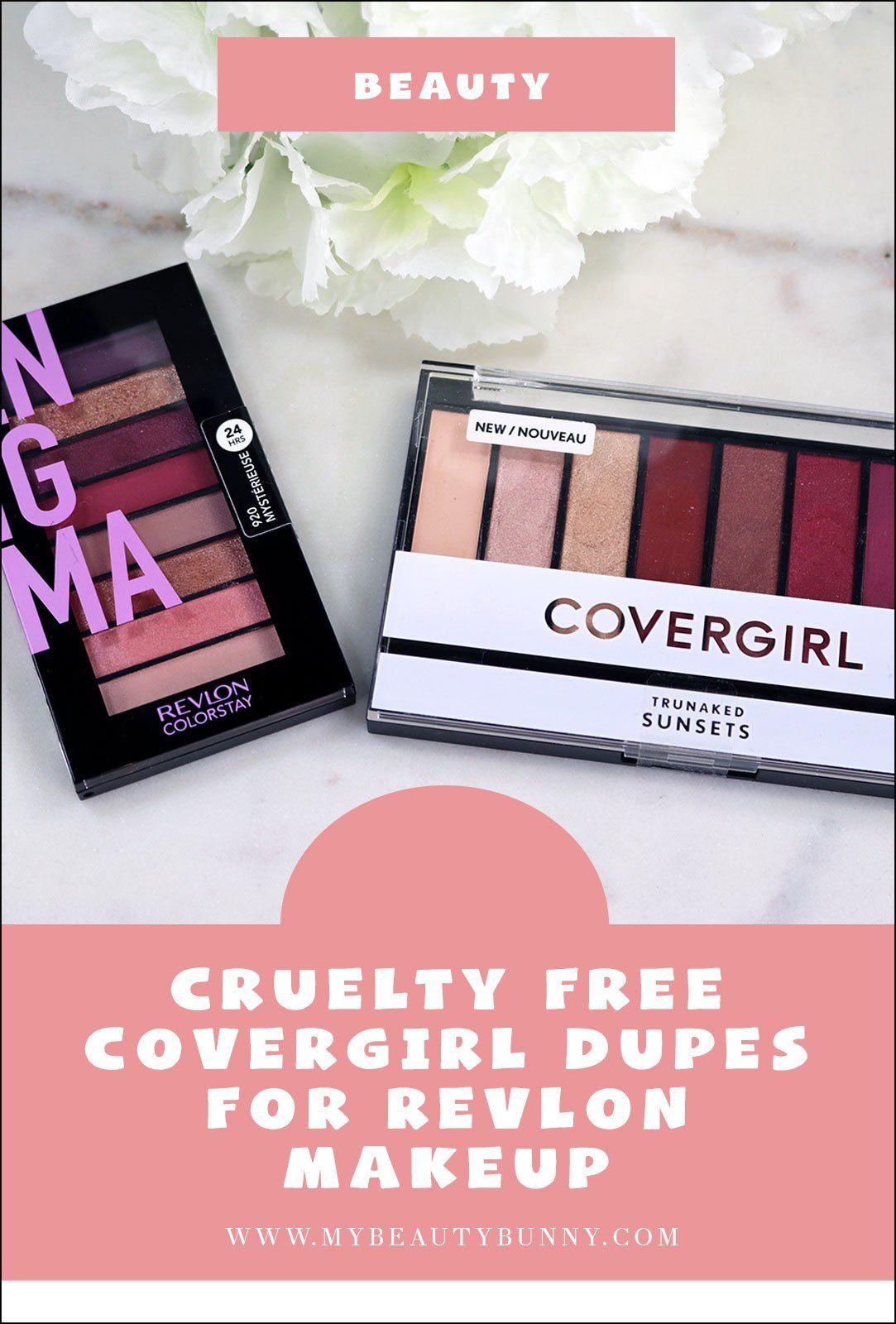 Cruelty Free Covergirl Dupes for Revlon Drugstore Makeup