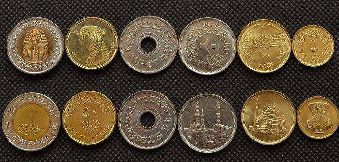 Monete Egiziane Quanto Vale Un Pound O Una Piastra Di Egitto
