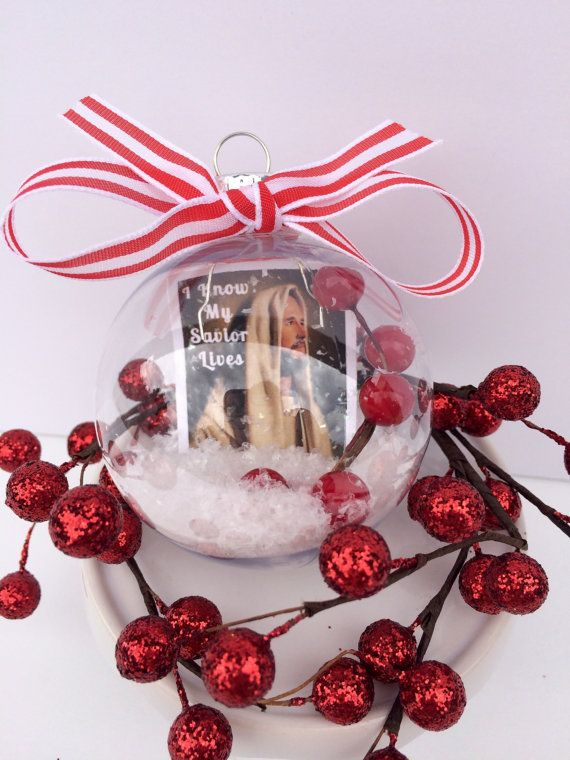 I Know My Savior Lives Primary Christmas Ornaments CTR Gifts LDS Mormon  Jesus Christ - I Know My Savior Lives Primary Christmas Ornaments CTR Gifts LDS