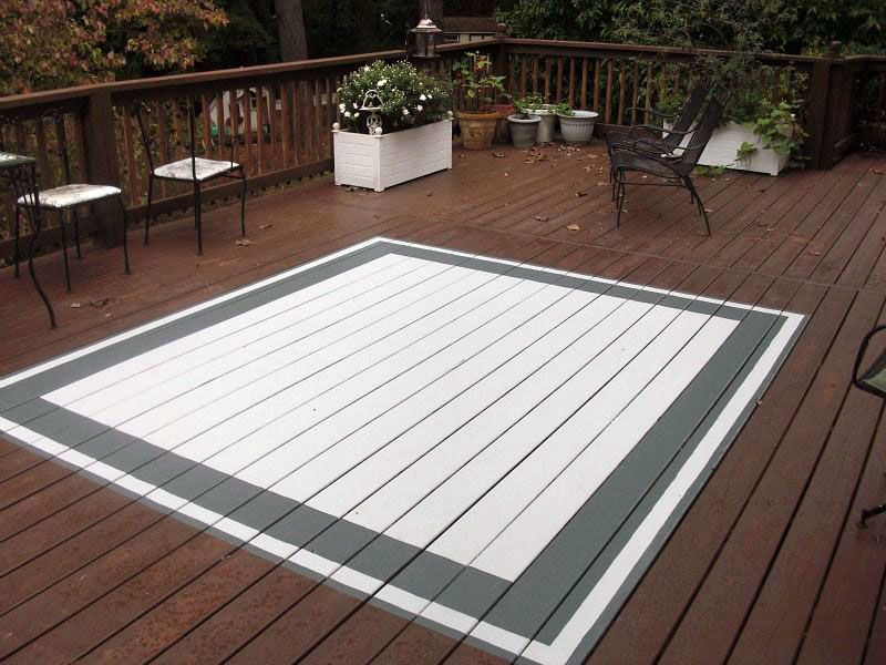 Concepts For Designating Outdoor Rugs Porch Rug Deck Paint Painted Patio