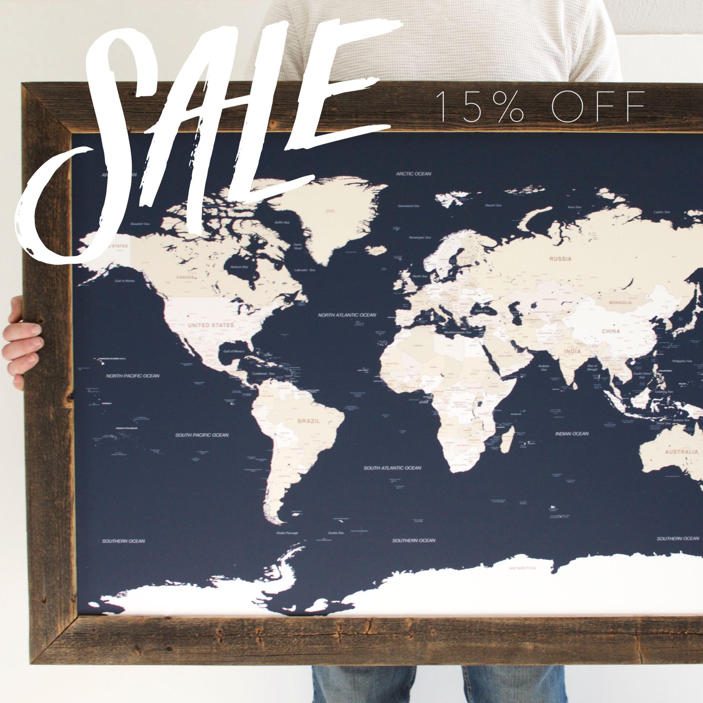 Cyber monday sale world travel map wayfaren pinterest cyber monday sale world travel map gumiabroncs Choice Image