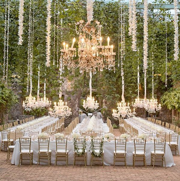 Outdoor wedding reception with banquet style tables brides of outdoor wedding reception with banquet style tables brides of adelaide junglespirit Gallery